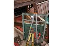 3 x garden cutters / loppers