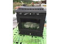 Large log burner