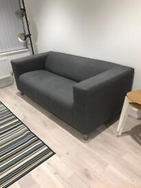 IKEA KLIPPAN Sofa with cover - nearly new