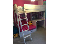 Thuka Trendy 29 High sleeper Bed - fantastic Kids bed with sofa and desk area