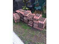 Redlands roof tiles approx 150 Free