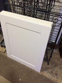 KITCHEN DOORS Cream Shaker Kitchen Unit Doors WALL UNIT