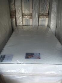 NEW good quality 4ft beds for sale ( includes good quality mattress and divan bed base )