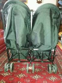 Zeta Citi double pushchair