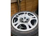 19 inch BMW alloy wheels full set MINT CONDITION