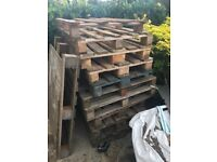 11 pallets for collection new haw