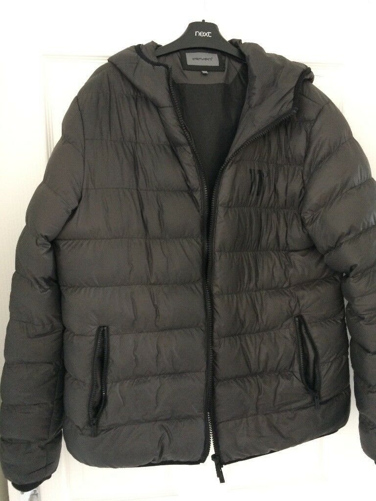 5663f00767c4 11 degrees puffer jacket xl grey
