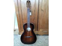 Alvarez MPA66ESHB Electro Acoustic Masterbilt Parlour Guitar and Alvarez Padded Gig Bag