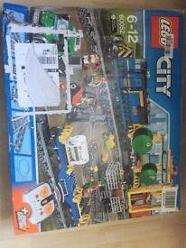 Lego 60052 Cargo Train Brand New Retired Set