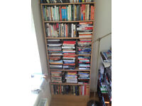 5 Billy Book Shelves 3 natural, 2 white