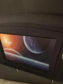 Car headrest tv.