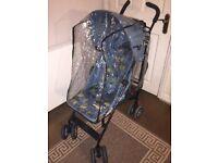 Mothercare Nanu Child Kids Pushchair Pram Buggy Stroller