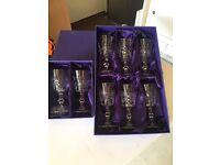 Edinburgh Chrystal Wine Glasses