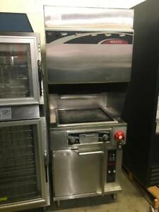 2 wells ventless vcs2000 ( griddle with convection oven ) & (griddle and fryer ) no hood requires ( like new ! ) save$$