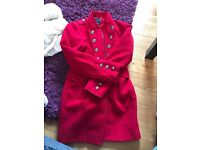 Gorgeous red girls coat