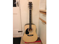 Left handed guitar - excellent condition