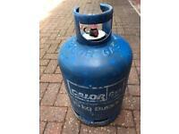 Gas bottle - nearly full