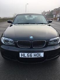 Bmw 135i M sport coupe low mileage manual sept 2008 black leather interior