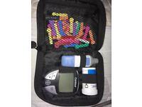 Blood sugar monitoring kit
