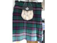 ladies kilt skirt