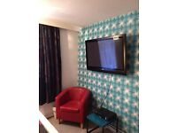 Short let double room available now £210 per week close to city centre