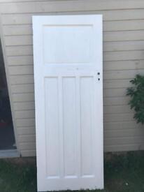 Five 1 over 3 panel doors