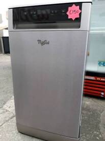 Irelands Appliance Centre whirlpool slimline dishwasher