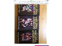 Virginia Andrews 3 hardback books