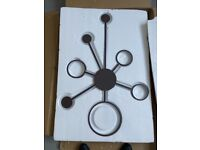 Ceiling LED Light with 7 Arms coffee