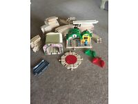 Brio bundle with 3 battery powered trains