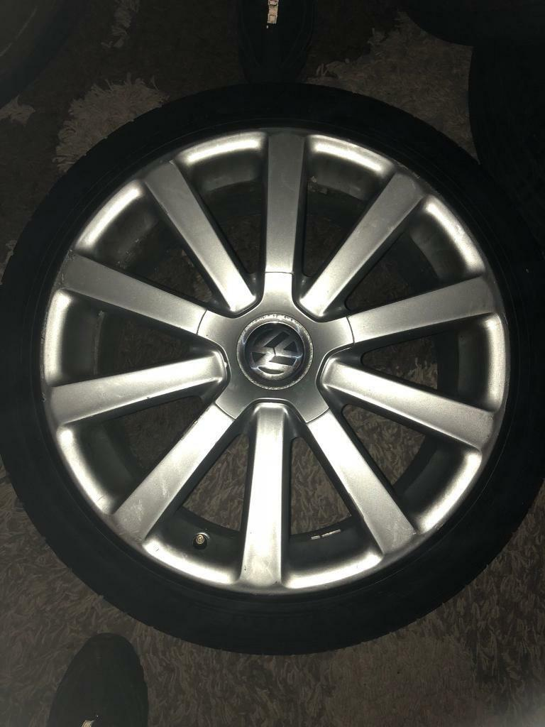 Vw golf Mk5 r32 omanyt alloys