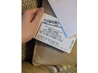2 xStanding Niall Horan Tickets Manchester 16/03/18