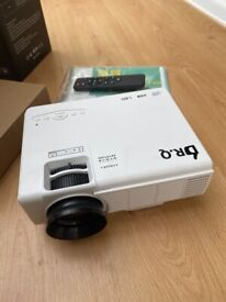 DR. Q Hi-04 Projector 1080P Full HD Supported, Upgraded 6500 Lux Video Projector