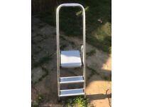 3 Tread Aliminium Platform Steps Ladders