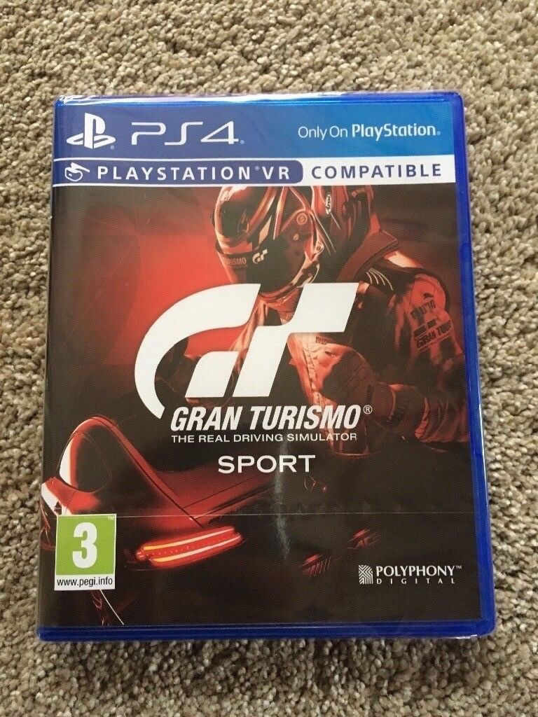 **SEALED** GRAN TURISMO SPORT PS4 GAME BRAND NEW