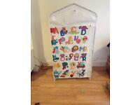 Kids canvas wardrobe
