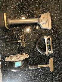 Used carpet laying tools