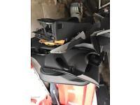Corsa d leather doorcards 3door