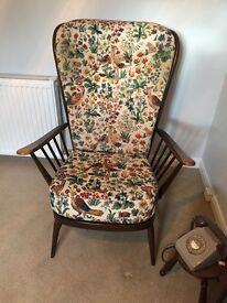 Ercol 2 seater sofa and armchair, pristine condition £370 P