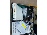 job lot of electronic items