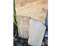 York stone paving slabs various sizes