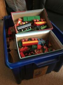 Brio / wooden train set