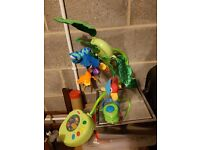Fisherprice rainforest mobile with remote