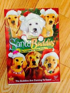 DISNEY SANTA BUDDIES CHRISTMAS DVD