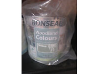 NEW RONSEAL Garden Wood Paint Willow Colour 2.5 litre