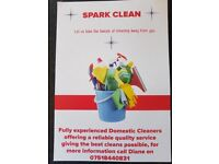 Spark Clean - A Domestic Cleaning Company for Peterborough and surrounding areas.