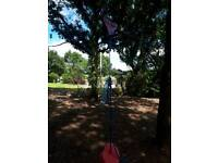 Zip wire 70ft with carriage and seat