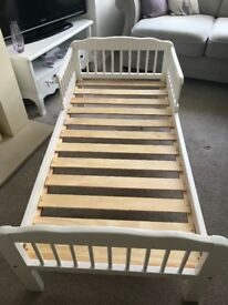 White John Lewis Cot Bed