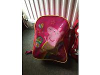 Peppa pig & Minnie Mouse bag