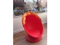 Children's Swivel armchair: IKEA PS LÖMSK Orange